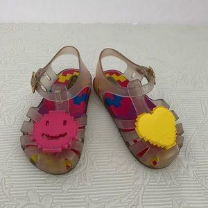 Mini Melissa Emoji sandals